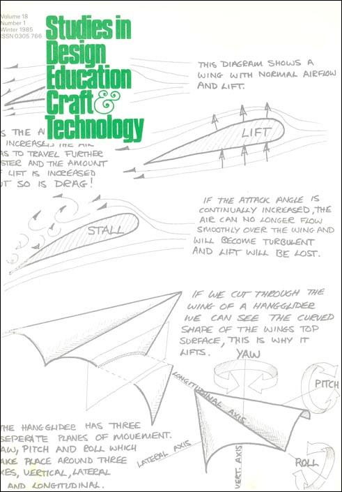 Hang Gliders | Studies in Design Education Craft & Technology