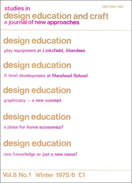 Design And Realisation As A Form Of Knowledge Studies In Design